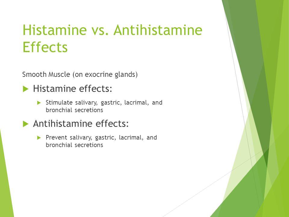 histamine and antihistamine drugs pdf