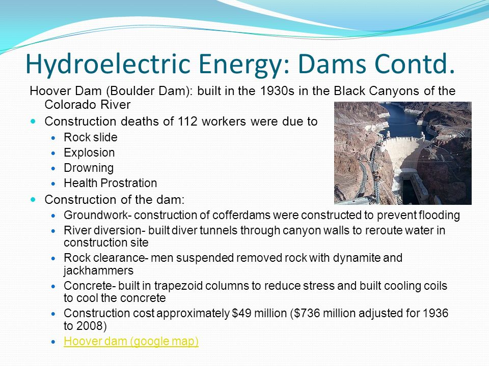 1000 word essays on hydroelectric power, Coursework Example - tete