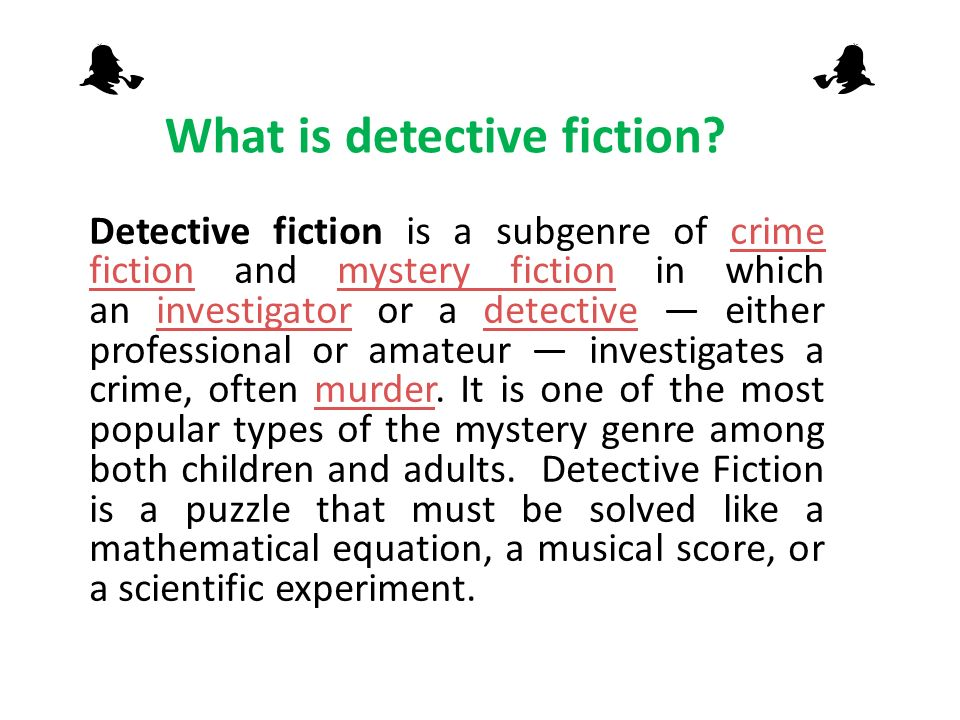 crime fiction As a crime writer, i'm delighted, but not surprised, that crime fiction has been  declared the most popular of all fictional genres, writes ruth.
