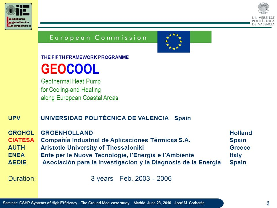 GEOCOOL Geothermal Heat Pump for Cooling-and Heating