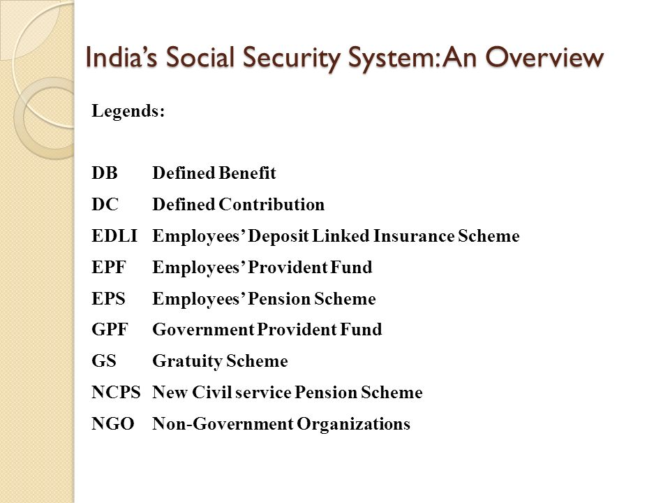 social security in india India introduced compulsory social security regulations for cross border workers  for the first time in october 2008 these regulations are still evolving and the.