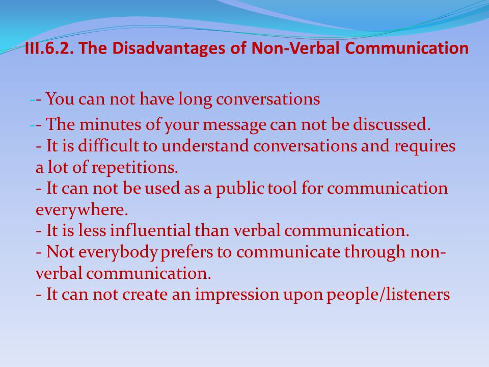 disadvantages of one way communication pdf