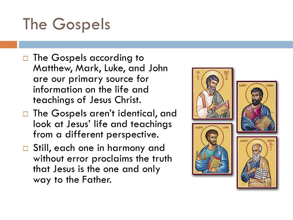 the depiction of the life of jesus in the gospels of matthew mark luke and john The gospel according to mark: the gospel according to mark gospels, matthew, mark, and luke in jesus: sources for the life of jesus john the baptist.