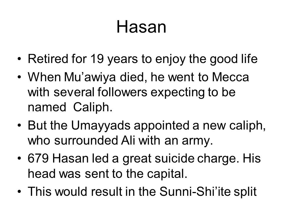 Hasan Retired for 19 years to enjoy the good life