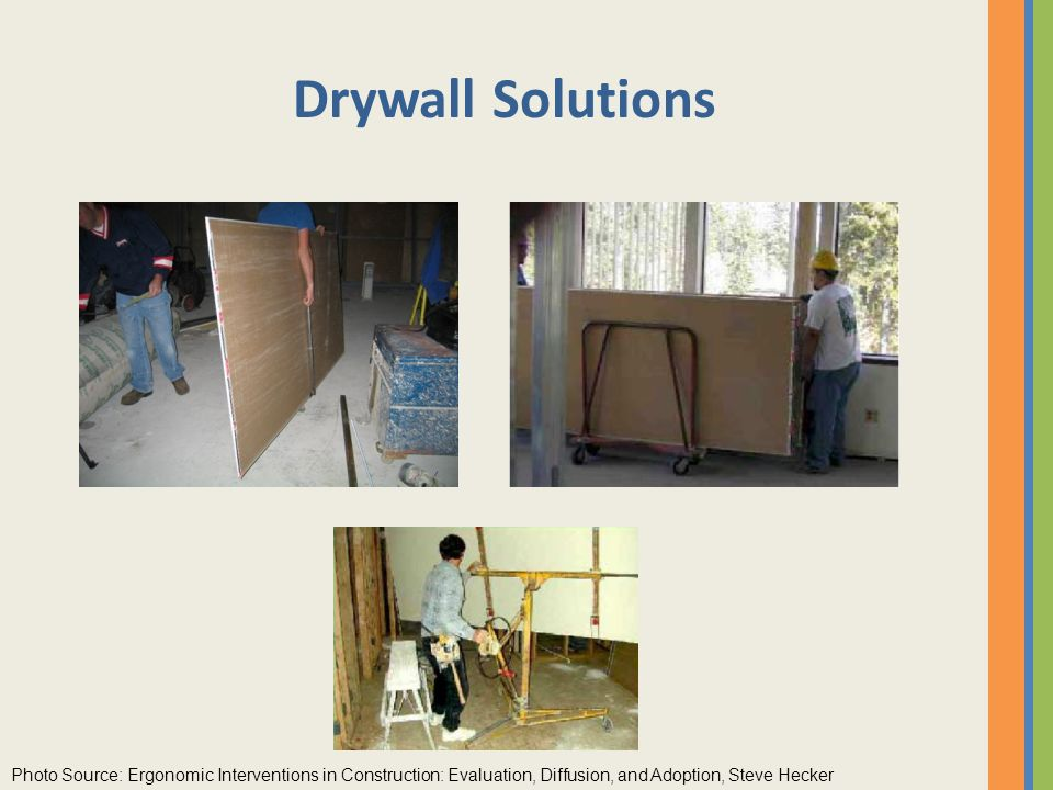 how to carry dry wall