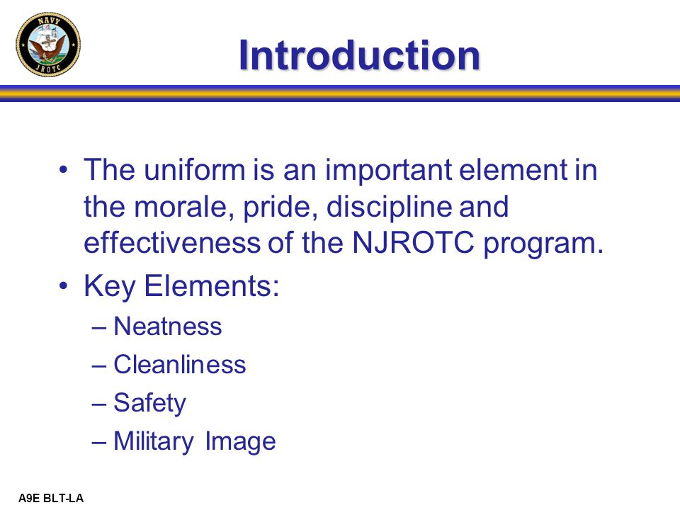 importance of proper uniform in the army It is important to note that is a guideline set forth by the us military, not  the  proper wear and appearance of the us flag on their uniform or kit.
