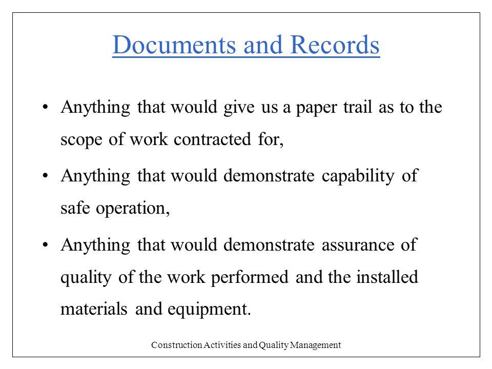 quality control of construction materials pdf