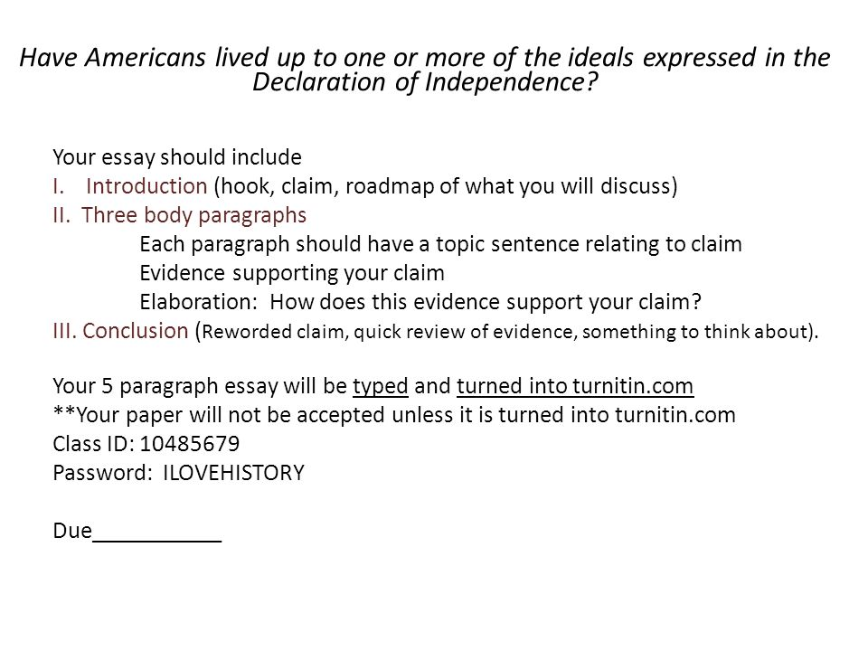 chapter defining and debating america s founding ideals ppt  have americans lived up to one or more of the ideals expressed in the declaration of