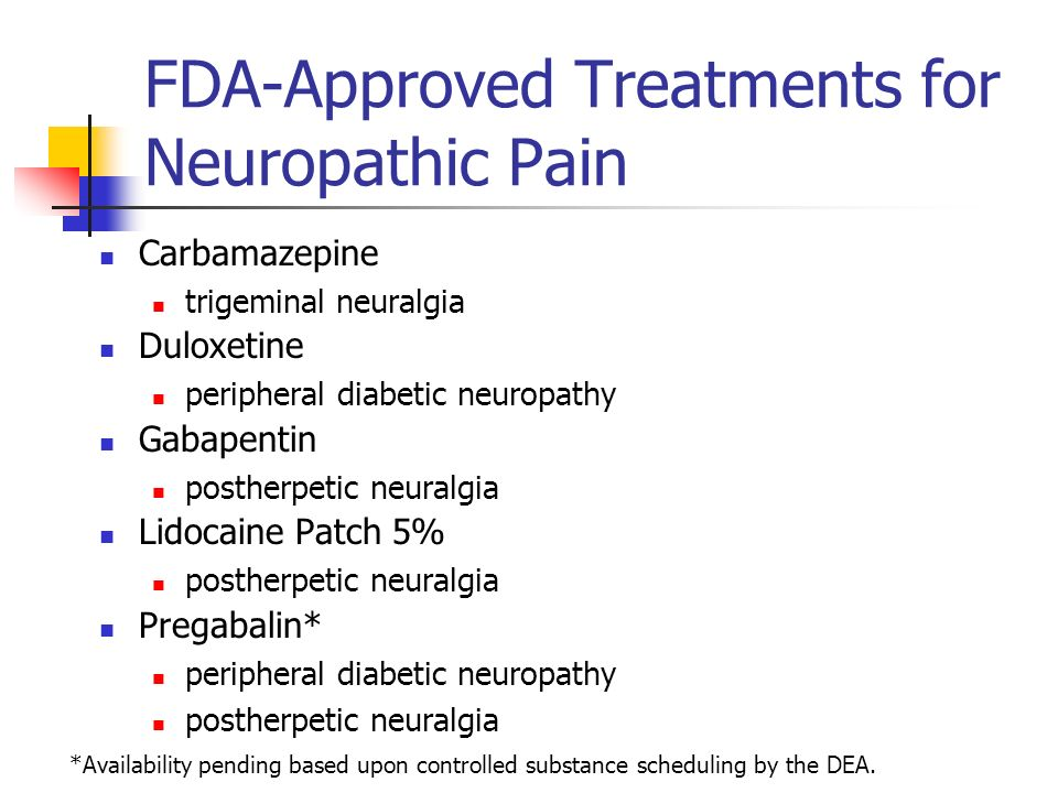 Gabapentin Medication For Neuropathy
