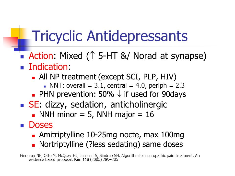 non sedating tricyclic antidepressants Despite being an important group of antidepressant drugs they are not ideal, due to a number of unwanted side effects side effects of the tcas include sedation.