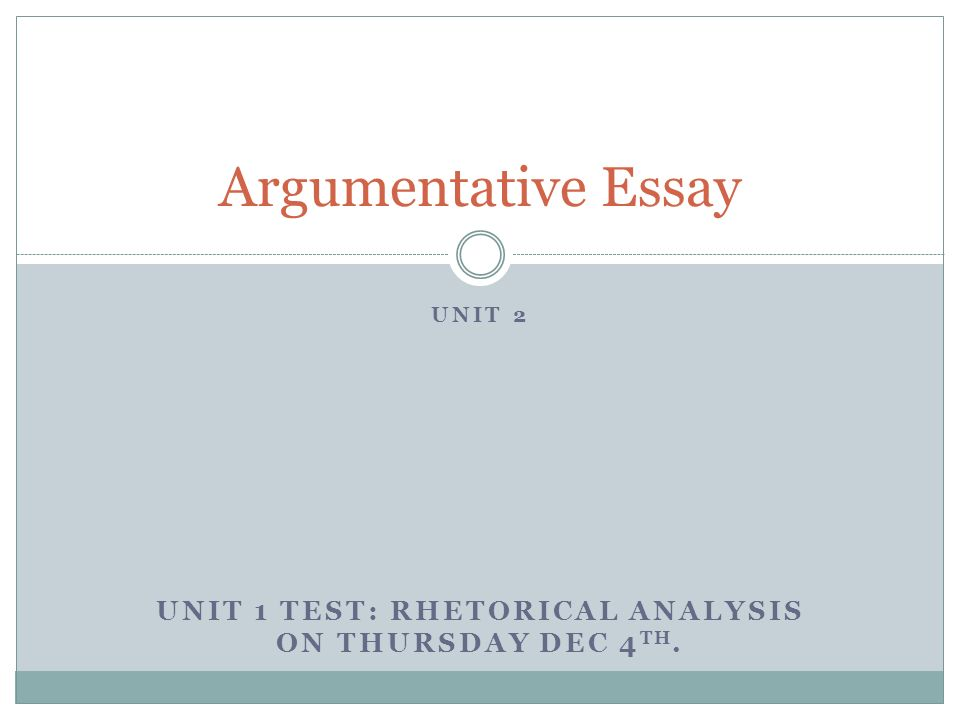 unit test 3 essay Multiple choice questions (mcqs) are the most frequently used type of tests   examination versus assignment essay higher educ 199835:453–472 3.