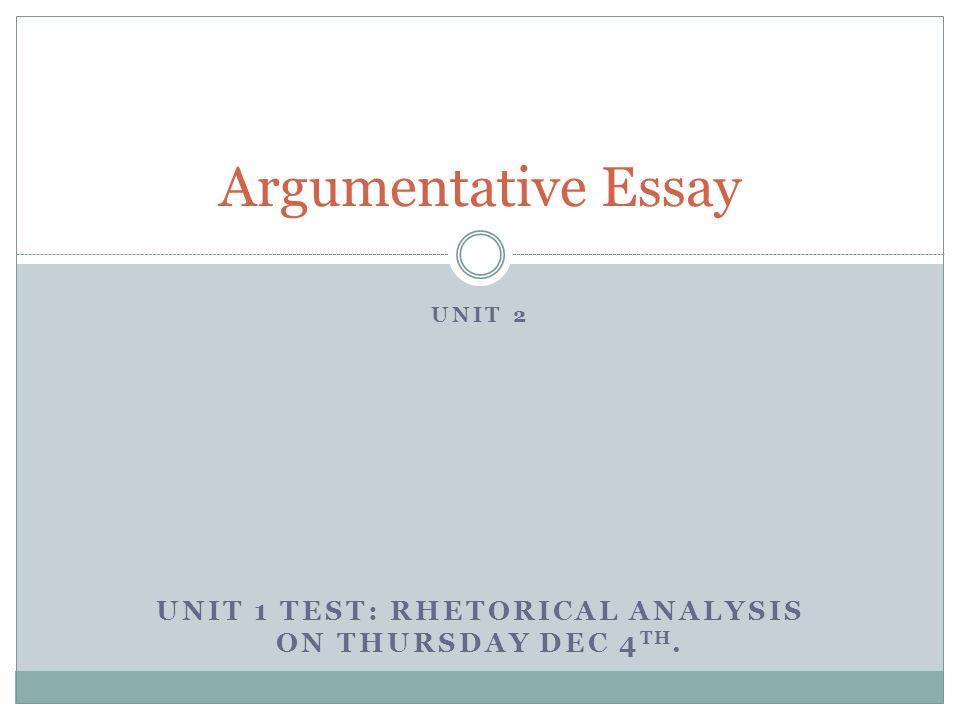 unit test 3 essay Course catalog  english iii  3 unit 2: sentence elements  essay: character description 21 test: the american novel 10 quiz 2:.