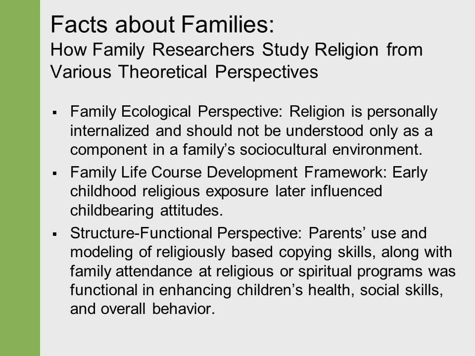 family perspectives Stream family life perspectives free online challenging topics affecting your life and your family, focusing on mental health and substance abuse issues.