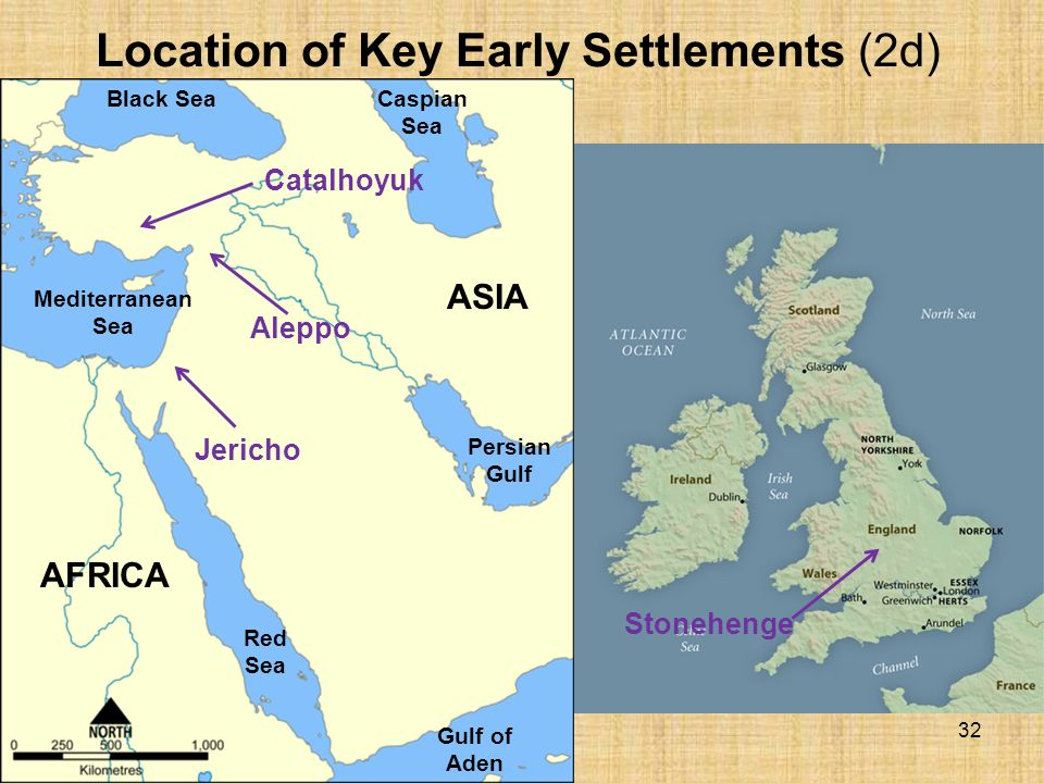 characteristics of the early settlements