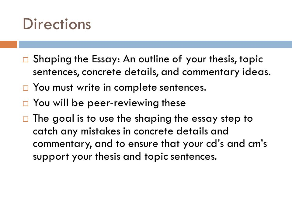 essay concrete detail and commentary Develop the topic with relevant facts, definitions, concrete details, quotations, or other information and examples w72f  i used is a four paragraph essay, but we focused just on the body paragraphs you can find a handout with the soap essay  to demonstrate understanding of concrete evidence and commentary, students revisited the.