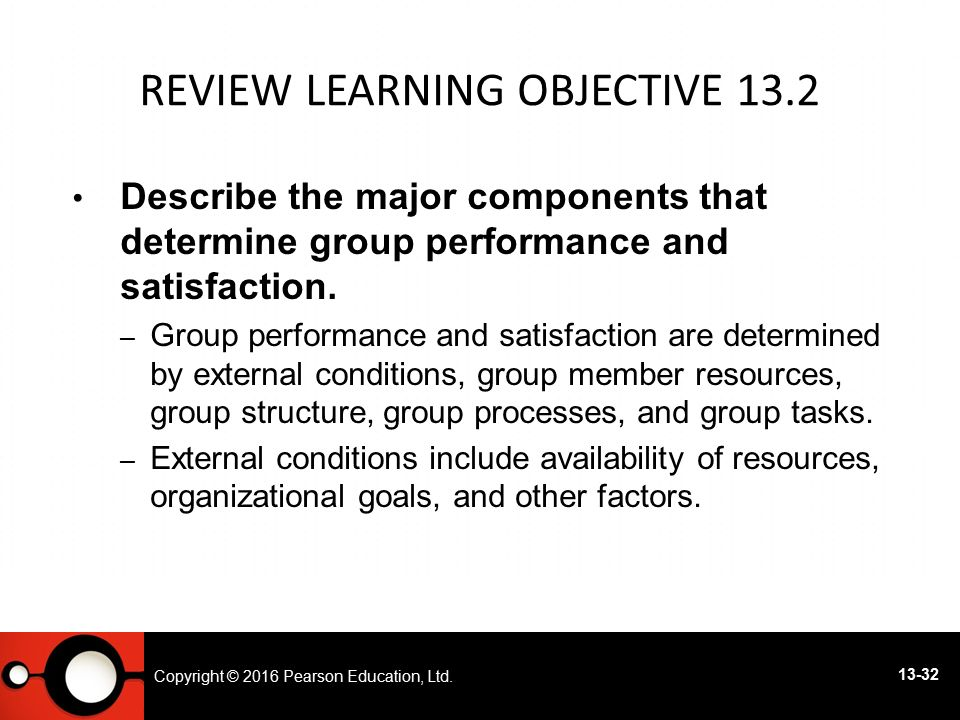 Review Learning objective 13.2