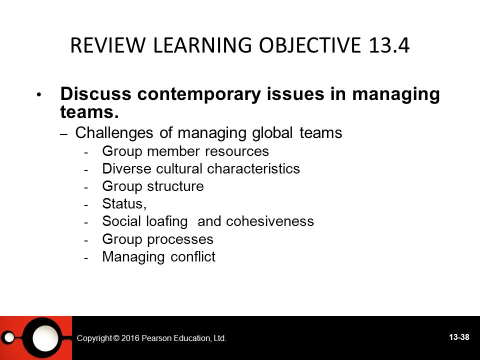 Review Learning objective 13.4