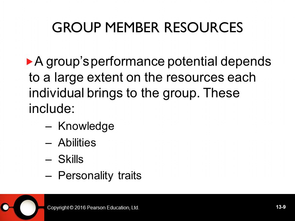 Group Member Resources