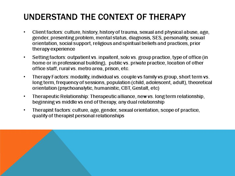 what is a social relationship vs therapeutic