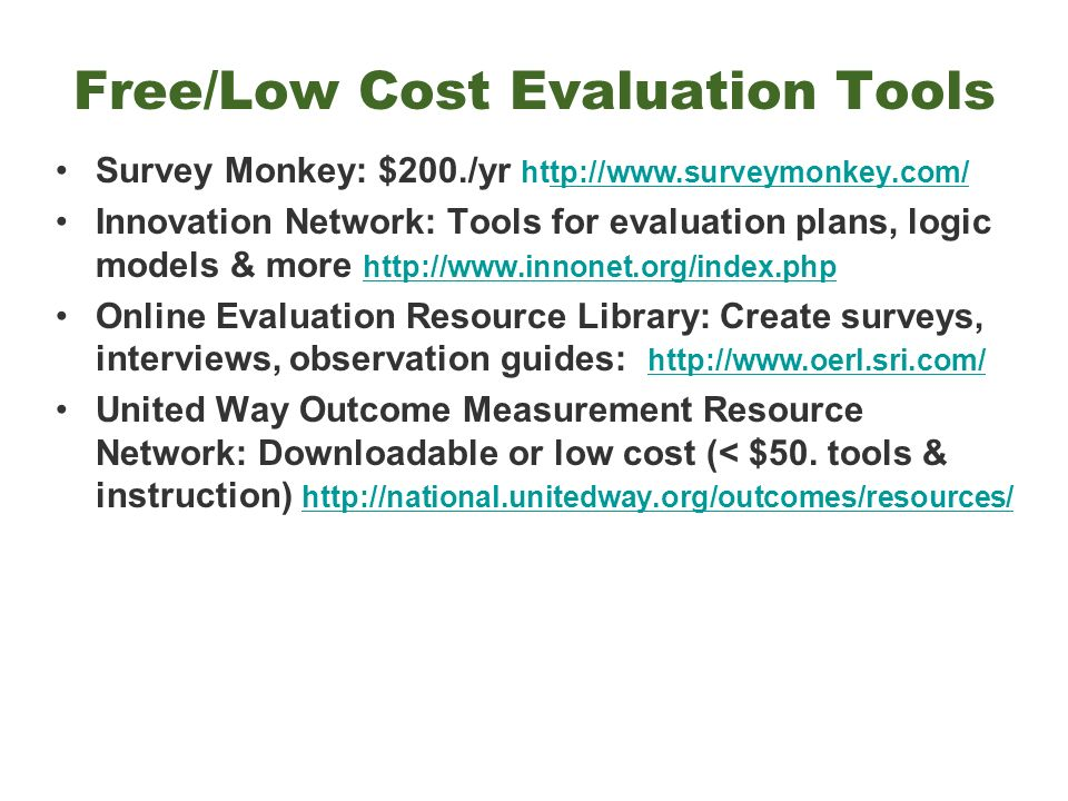 kellogg foundation evaluation handbook