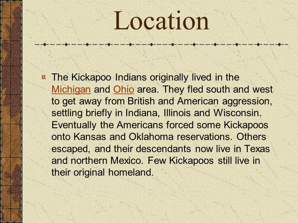 the kickapoo traditional tribe of texas essay Maryland vs texas - comparing maryland and texas the kickapoo traditional tribe of texas essay - the kickapoo traditional tribe of texas the kickapoo indians.
