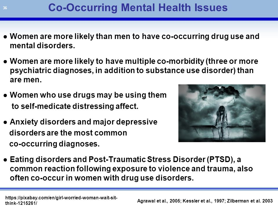 diagnosing co morbid substance use disorders suds Almost 2 times more likely to meet diagnostic criteria for alcohol abuse or  risk  of both substance use and development of suds , comorbid conditions,.