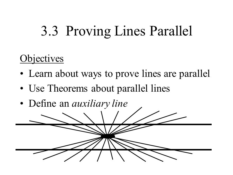 Warmup Open book to page 73 Read all of the 31 section ppt – Proving Lines Parallel Worksheet
