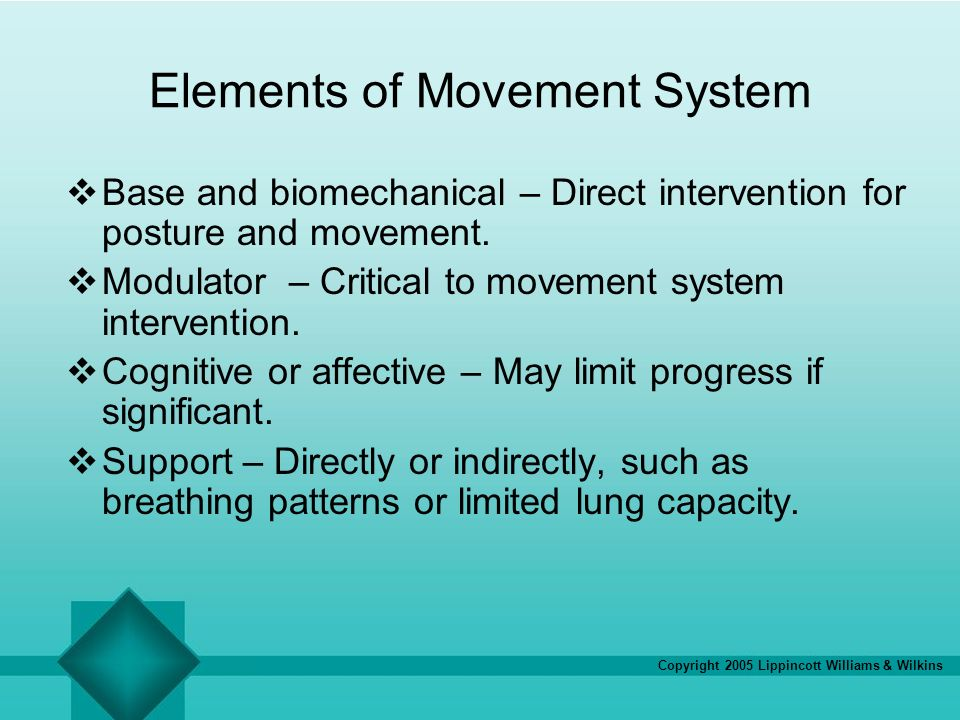 Elements Of Movement : Chapter impaired posture and movement ppt download