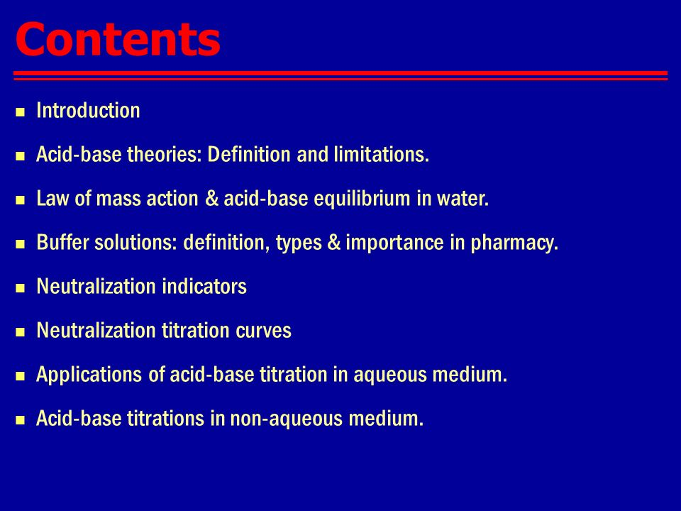 an introduction to the brief explanation of titration Chemical analysis by redox titration introduction: titration is a common method for determining the amount or concentration of an unknown substance.