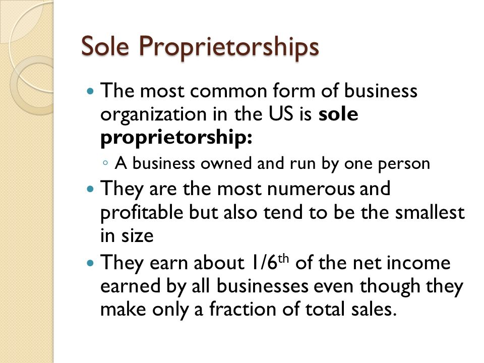 Chapter 3: Business Organizations - ppt download