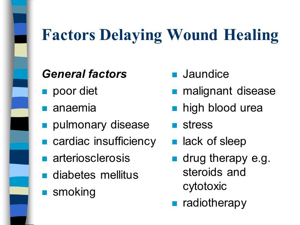 Wound healing diet