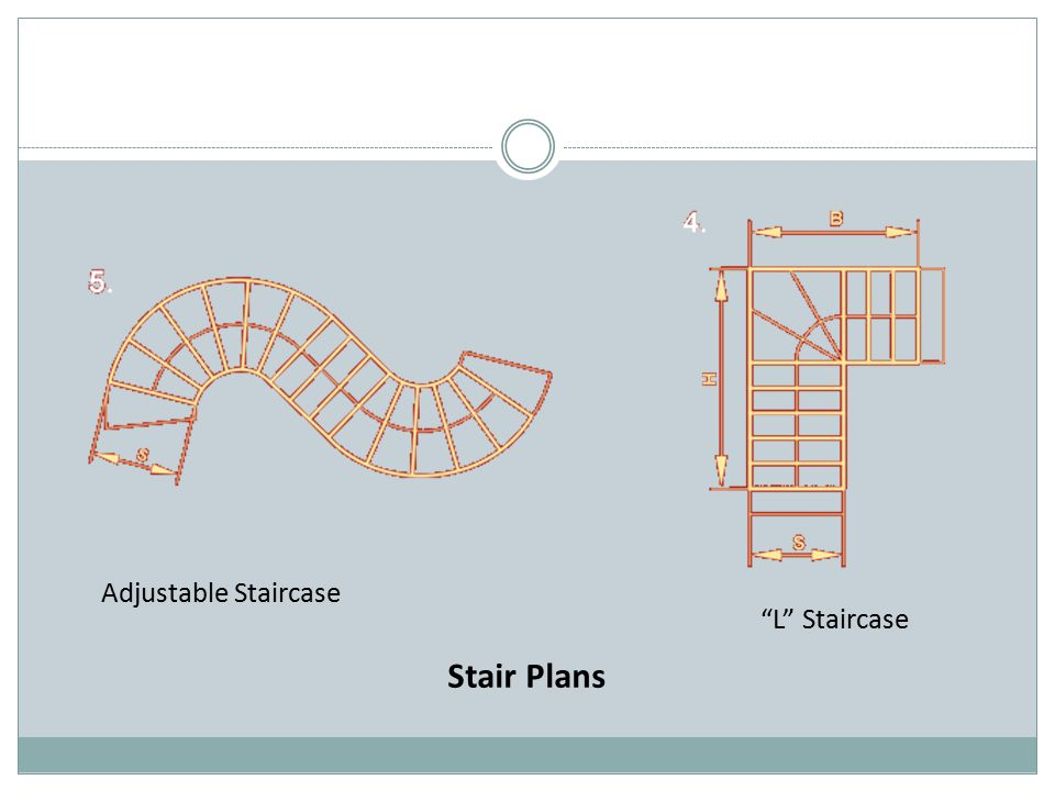Adjustable Staircase L Staircase Stair Plans