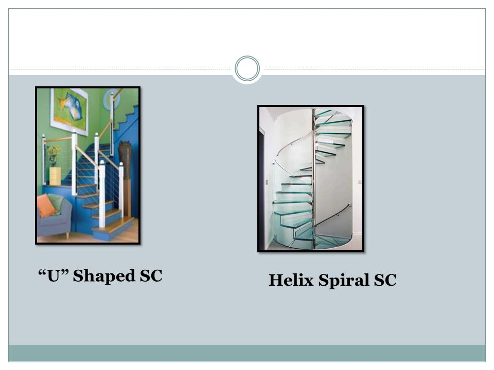 U Shaped SC Helix Spiral SC