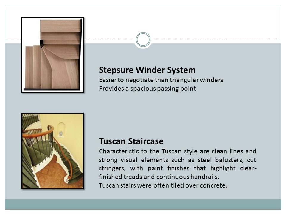 Stepsure Winder System