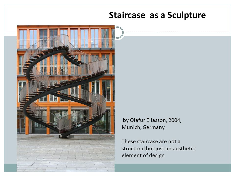 Staircase as a Sculpture