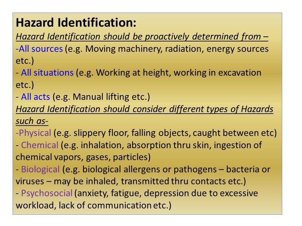 manual excavation job hazard analysis