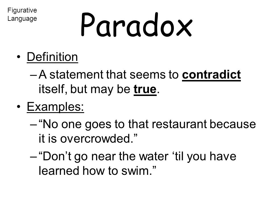 paradox examples for kids - photo #16