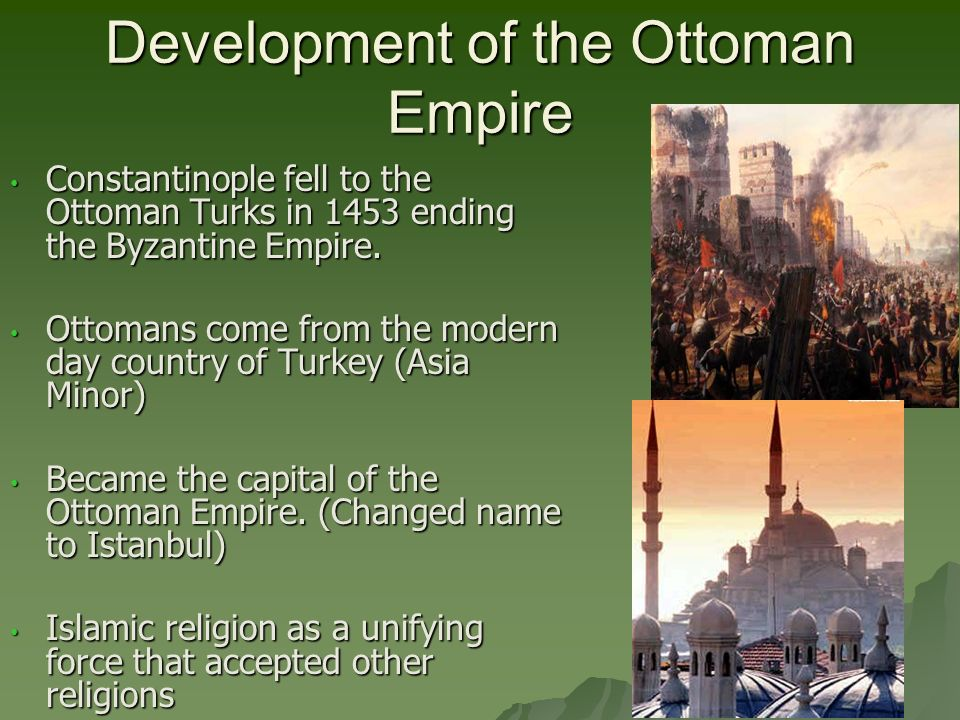was islam the motivation for ottoman empire expansion For around 600 years, the ottoman empire controlled much of southern europe and the middle east the empire was influenced by islam and operated as.