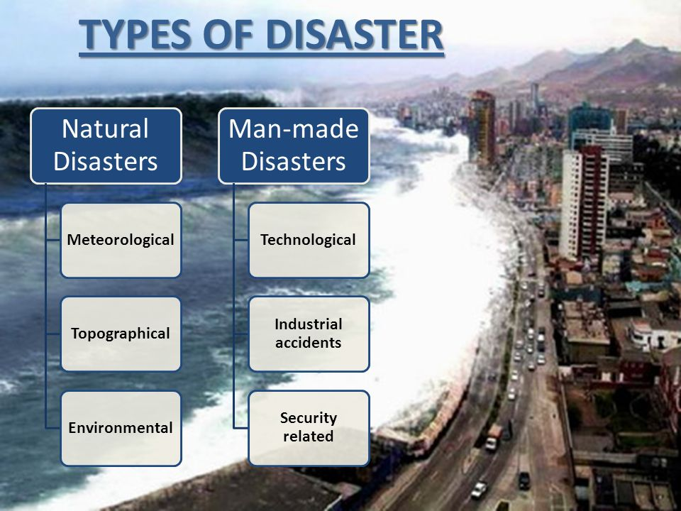Class A Natural Disasters Examples