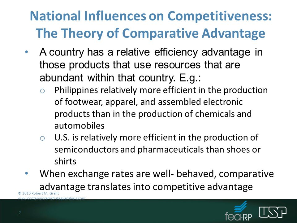 the theory of comparative advantage essay When challenged to provide a nontrivial, nonobvious economic insight, nobel laureate paul samuelson listed comparative advantage despite.