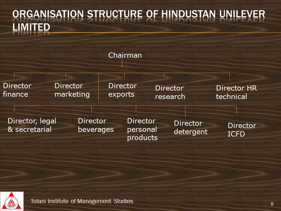 Management information system at hindustan unilever limited ppt organisation structure of hindustan unilever limited thecheapjerseys Choice Image