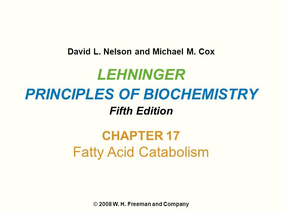 Lehninger Principles of Biochemistry 6th Ed Nelson Cox -- Used