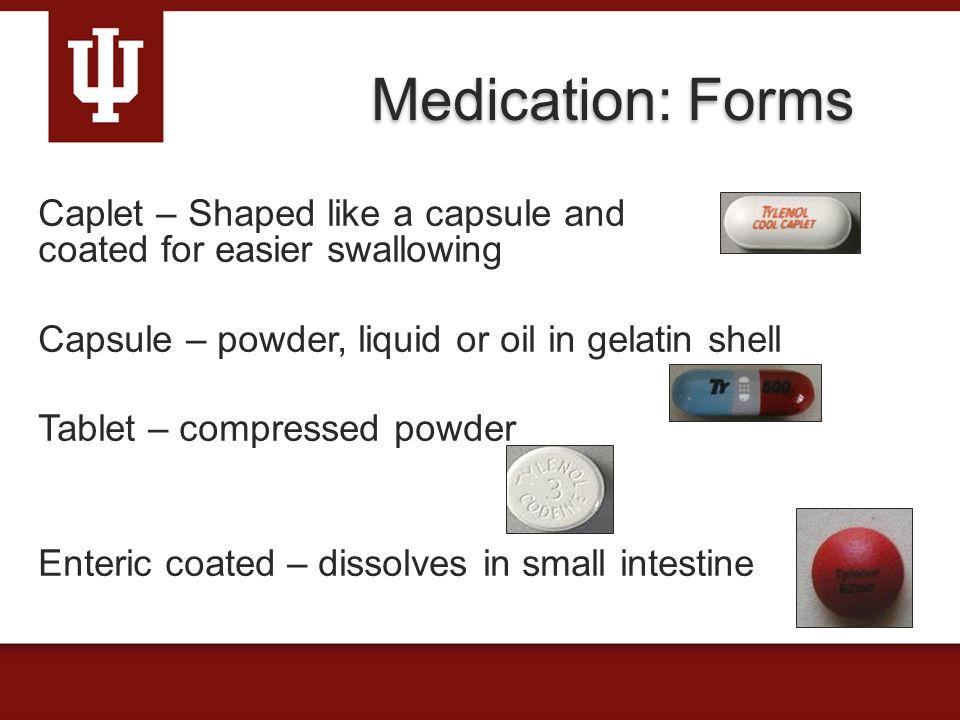 Entericcoated medications