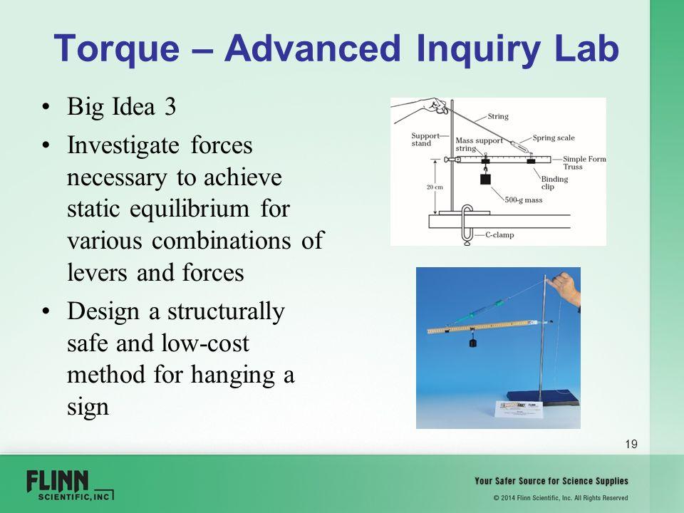 Static Equilibrium - Hanging [NOTEBOOK LAB]