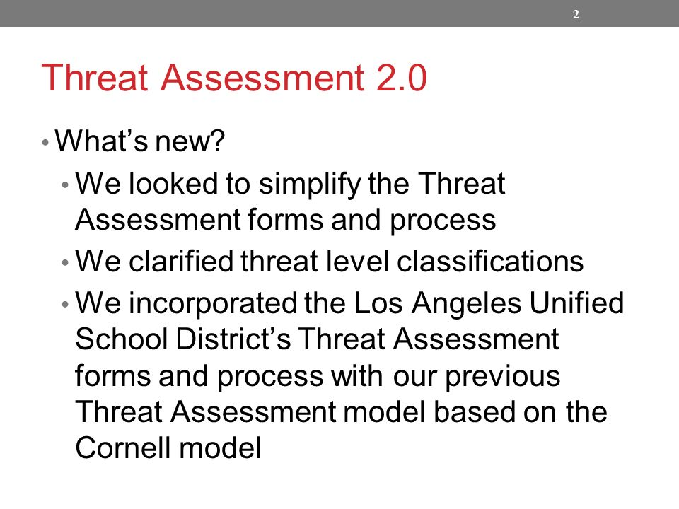 Charming Threat Assessment Template Gallery  Example Business