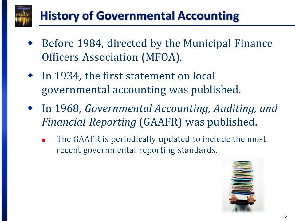history of the financial accounting standards In this article, we will look into the history and development of accounting  standards the improvements in financial reporting have been largely.
