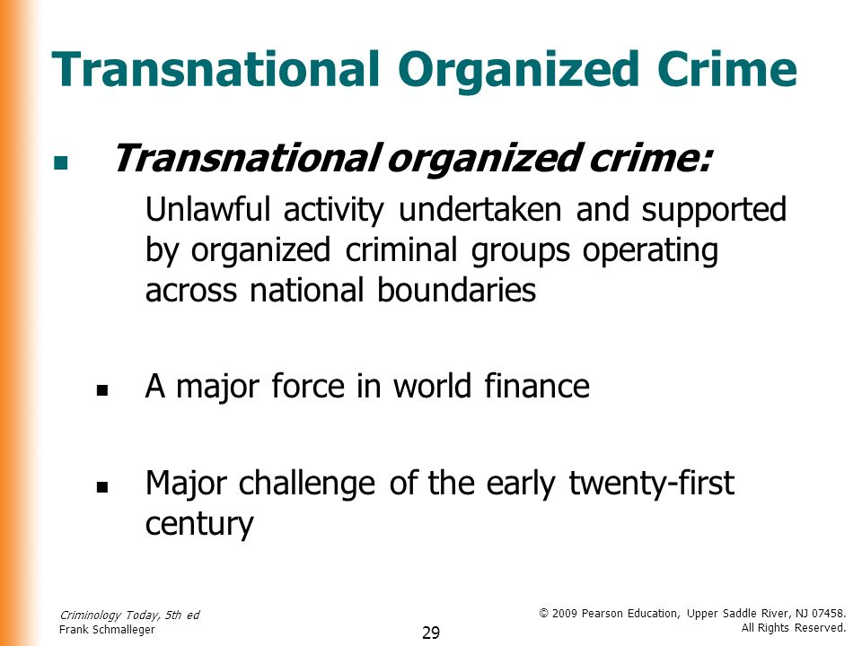 transnational crime The terrorism, transnational crime and corruption center (traccc) is the first center in the united states devoted to understanding the links among terrorism .