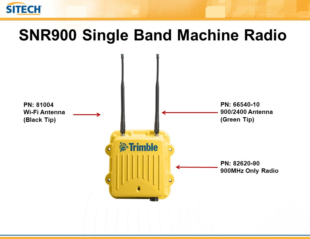 SNR900+Single+Band+Machine+Radio trimble component sheets ppt video online download  at readyjetset.co