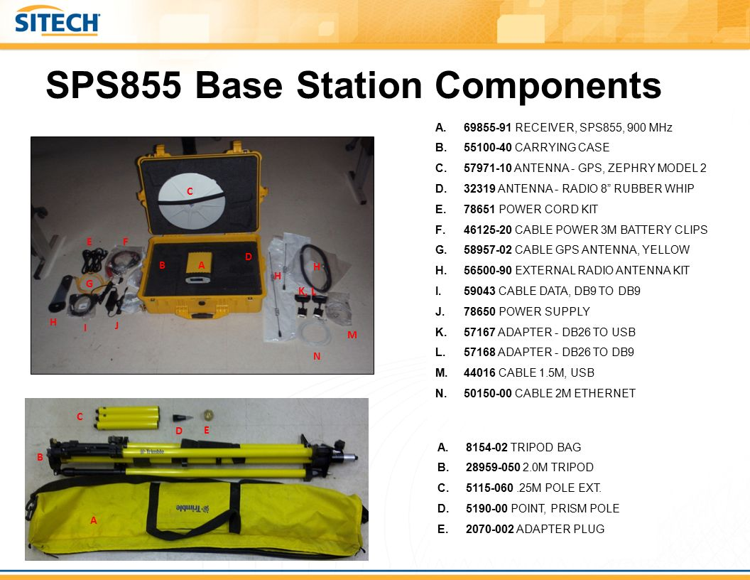 SPS855+Base+Station+Components trimble component sheets ppt video online download  at readyjetset.co
