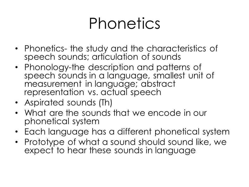 Why do we study phonetics? - Quora